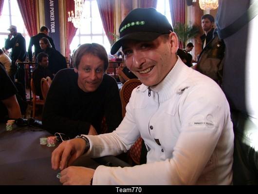 Remy Biechel et Nicolas Derveaux à la même table