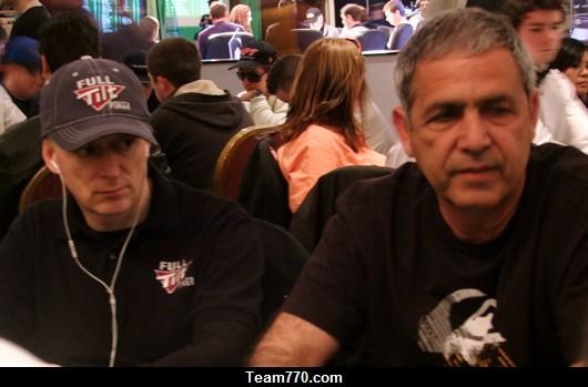 Dave Colclough et Mel Judah