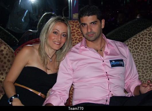 Stephan Gerin et sa compagne Rebecca