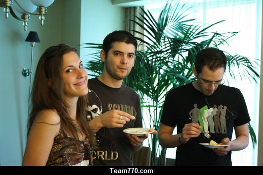 Emilie, Elie et Jamel
