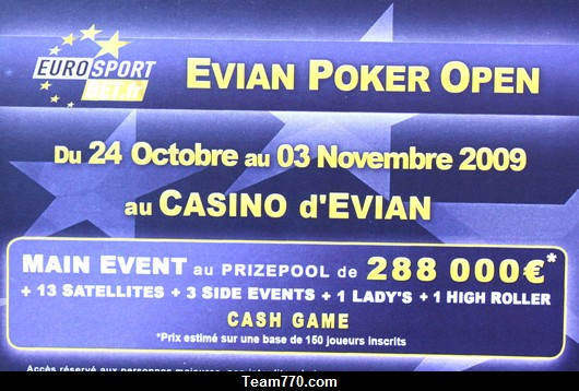 Evian Poker Open