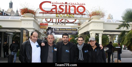 Evian Poker Open Main Event: