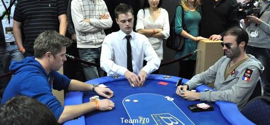 Heads-Up par équipe: les autres rencontres