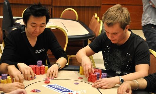 Rui Cao et Evgeniy Zaytsev
