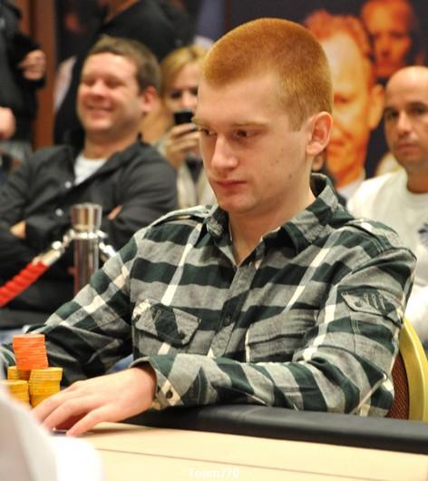 Gustav Ekerot éliminé en 7ème position (71,000 €)