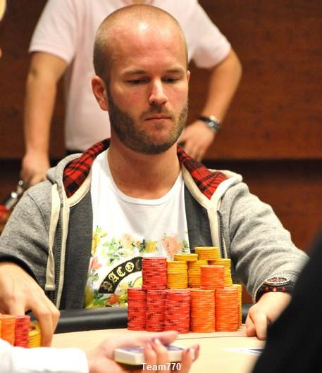 Stefan Mattsson éliminé en 3ème position (255,000 €)