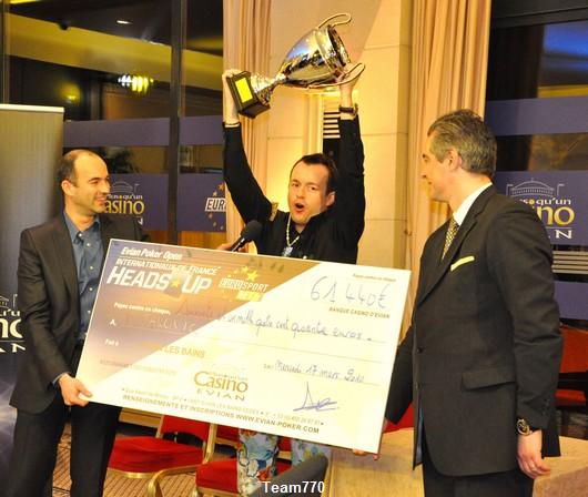Dag Palovic remporte les Internationaux de France de heads-up