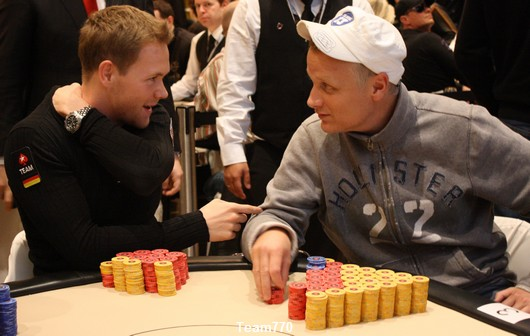 Johannes Strassman et Theo Jorgensen