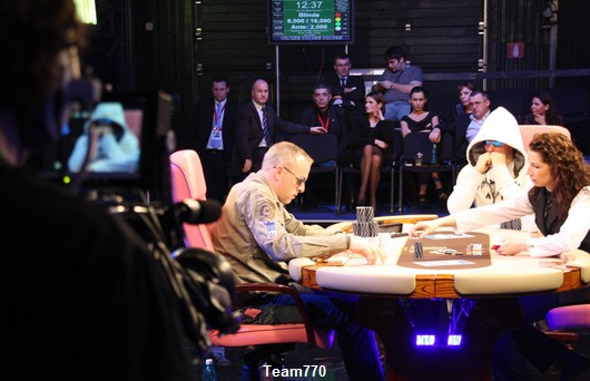 Guillaume toujours en Heads Up au WPT Bucarest