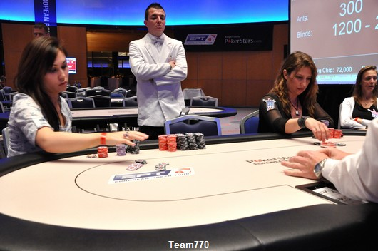 Vanessa en Heads-Up du 300 € Ladies Event