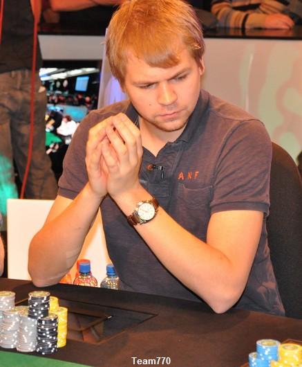 Santeri Vilakoski éliminé en 3ème place