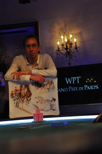 Antoine Amourette éliminé en 2ème position (328,690€)