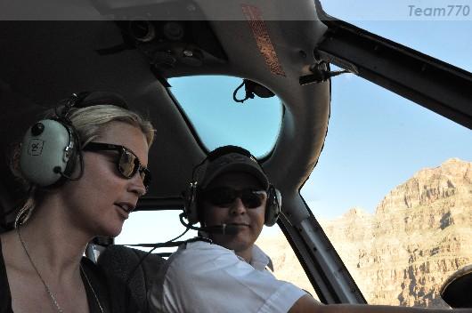 Virginie et le pilote