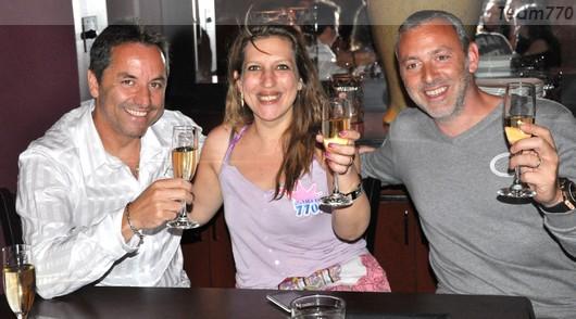 Christophe, Vanessa, Guillaume