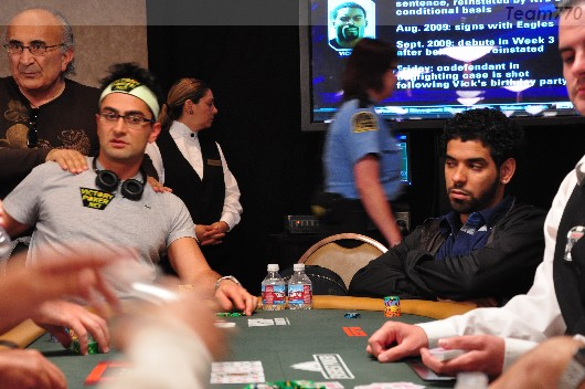Antonio Esfandiari et David Williams