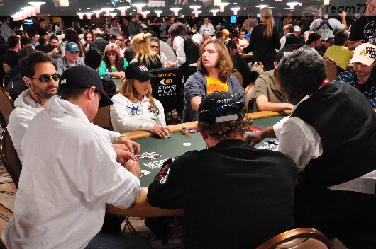 WSOP Main Event: day 1 Over
