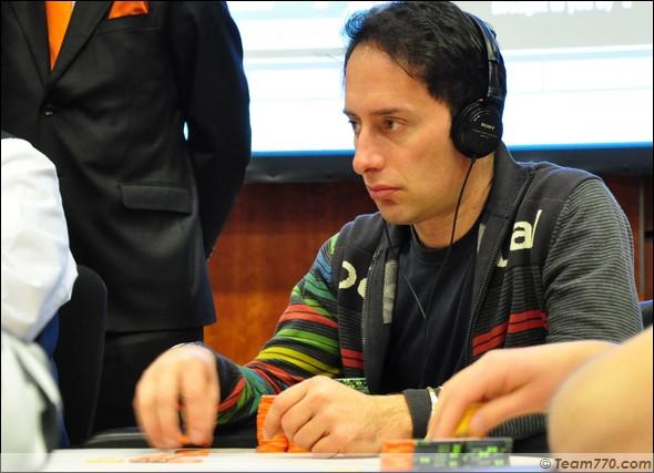 Marco Leonzio éliminé en cinquième place (€ 130,000)