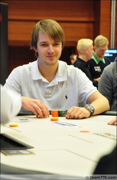 Peter Skripka éliminé en quatrième place (€ 163,000)