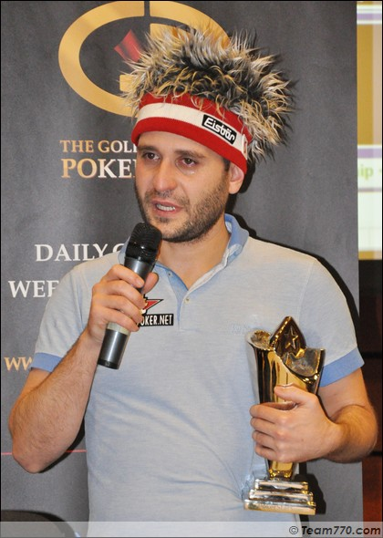 Roberto Romanello remporte l'EPT de Prague