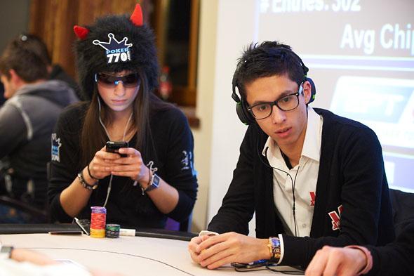 Cynthia Foresti et Tristan Clémençon