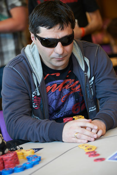 Karen Sarkisyan éliminé en douzième place (18,000€)