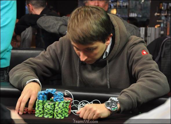 Frederic Van Der Mersch éliminé en 4ème position