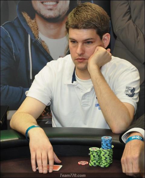 Brian Rausens éliminé en 7ème place