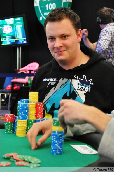 Julian Herold Chip Leader