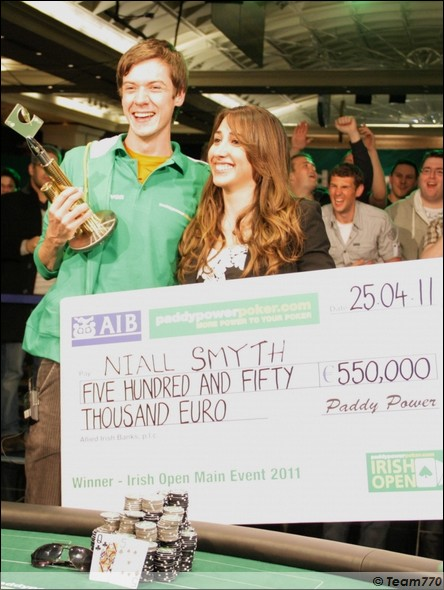 Niall Smyth remporte l'Irish Open of Poker 2011